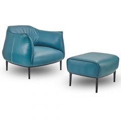 Archibald Lounge Armchair  Sofa Chair Jean-marie massaud Designed