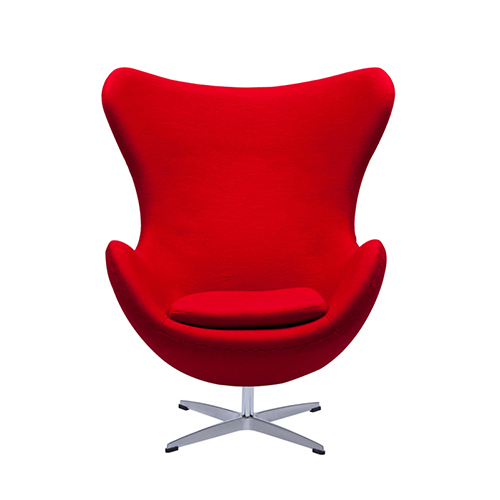 Replica Arne Jacobsen Egg Chair Leather